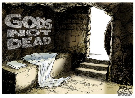 Cartoonist Gary Varvel: Easter means God's not dead