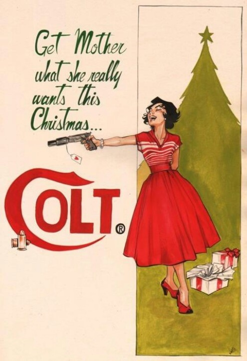 Give mother what she really wants: Colt